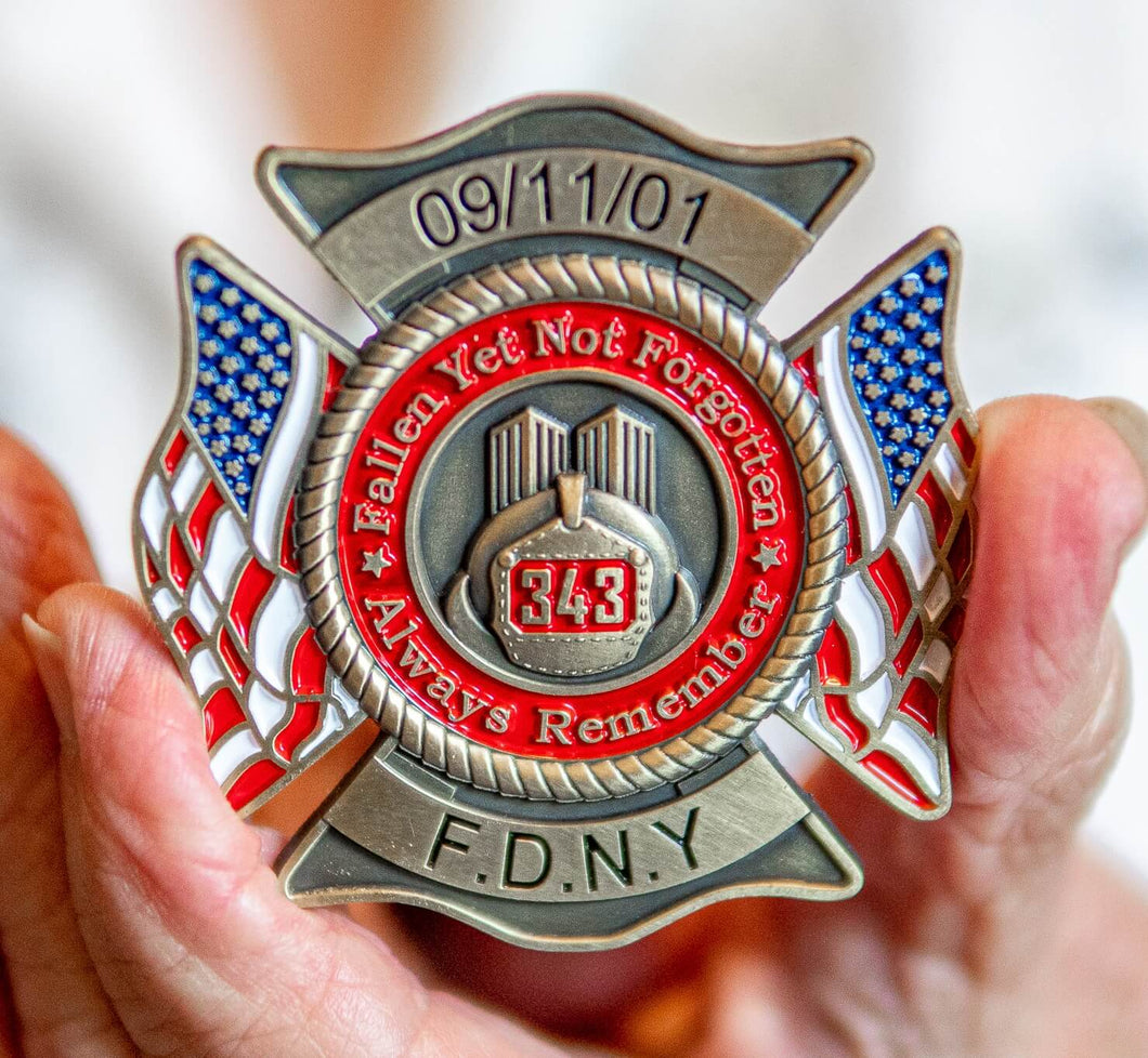 9/11 Firefighter Lapel Pin