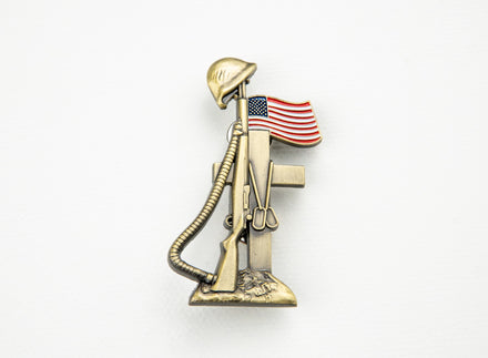 Load image into Gallery viewer, 75th D-Day Lapel Pin - Remember the Fallen