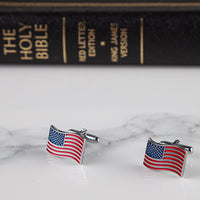 Load image into Gallery viewer, USA Flag Cufflinks VIP