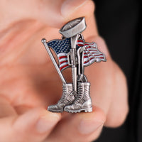 Load image into Gallery viewer, US Navy Fallen Sailor Pin