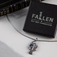 Load image into Gallery viewer, US Navy Veteran Necklace