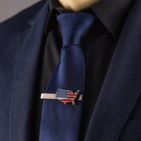 Load image into Gallery viewer, USA Flag Tie Clip