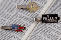 Load image into Gallery viewer, Don't Tread on Me Tie Clip