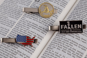 Don't Tread on Me Tie Clip