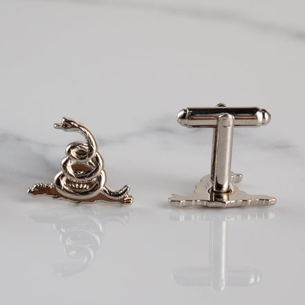 Load image into Gallery viewer, Rattlesnake Cufflinks