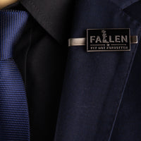 Load image into Gallery viewer, Fallen Yet Not Forgotten Tie Clip