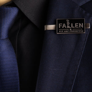 Fallen Yet Not Forgotten Tie Clip