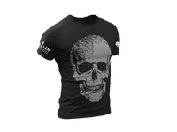 Load image into Gallery viewer, Dark Gray Skull T-Shirt