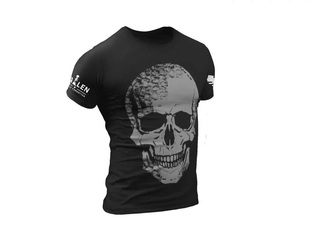 Dark Gray Skull T-Shirt