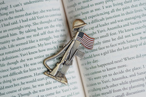 75th D-Day Lapel Pin - Remember the Fallen VIP