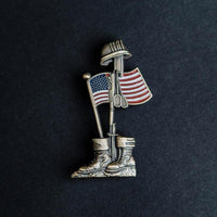 Load image into Gallery viewer, 75th D-Day Lapel Pin -The Fallen Soldier VIP