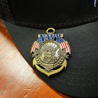 Load image into Gallery viewer, US Navy Veteran's Day Pin VIP
