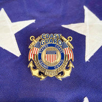 Load image into Gallery viewer, US Coast Guard Veteran's Day Pin VIP