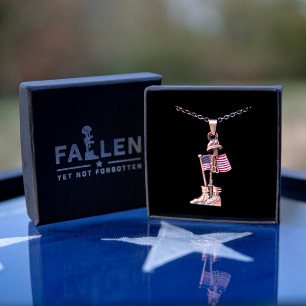 Fallen Soldier Commemorative Necklace