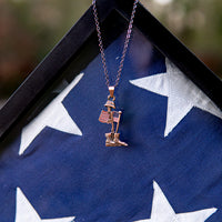 Load image into Gallery viewer, Fallen Soldier Commemorative Necklace