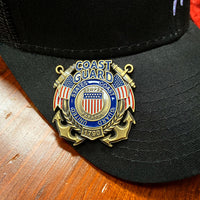 Load image into Gallery viewer, US Coast Guard Veteran's Day Pin
