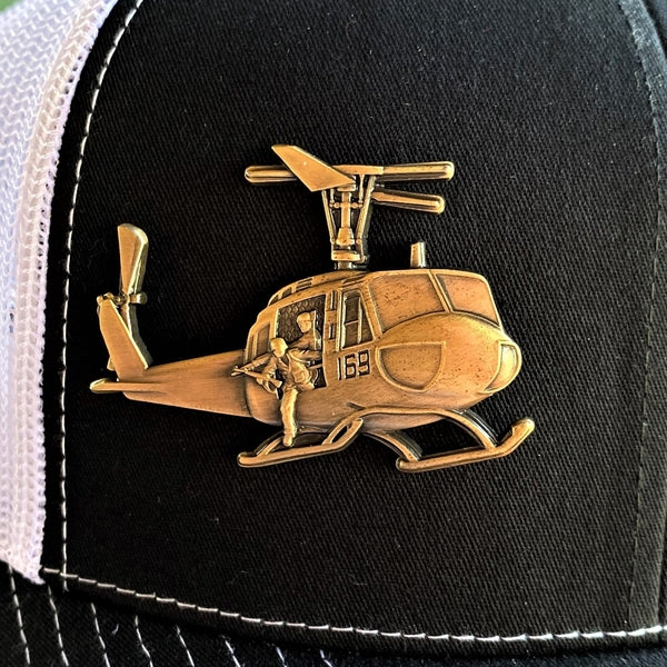 Huey Helicopter Pin