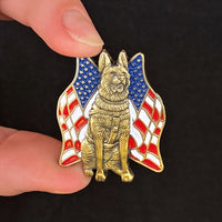 Load image into Gallery viewer, K-9 Veteran Pin
