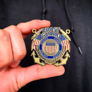 US Coast Guard Veteran's Day Pin