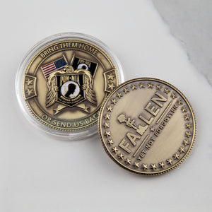 POW*MIA Memorial Coin