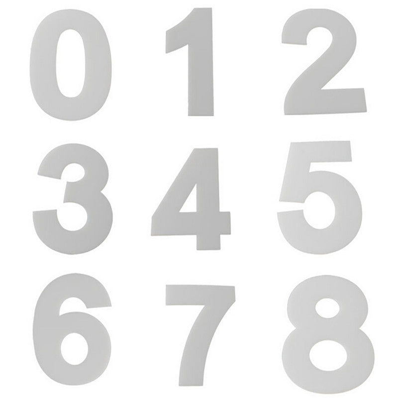 plastic numbers templates cakeart decorating supplies
