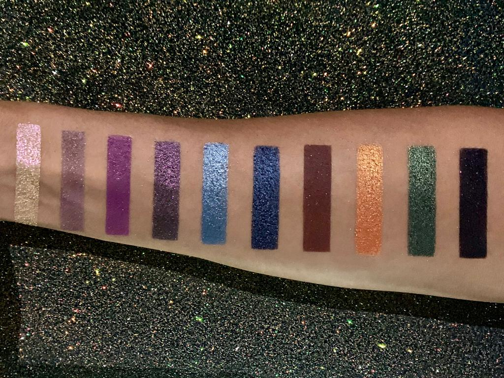 Under My Skin Eyeshadow Palette by Miss Fame Beauty