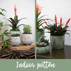 Indoor potten