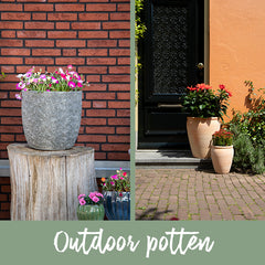 Outdoor potten