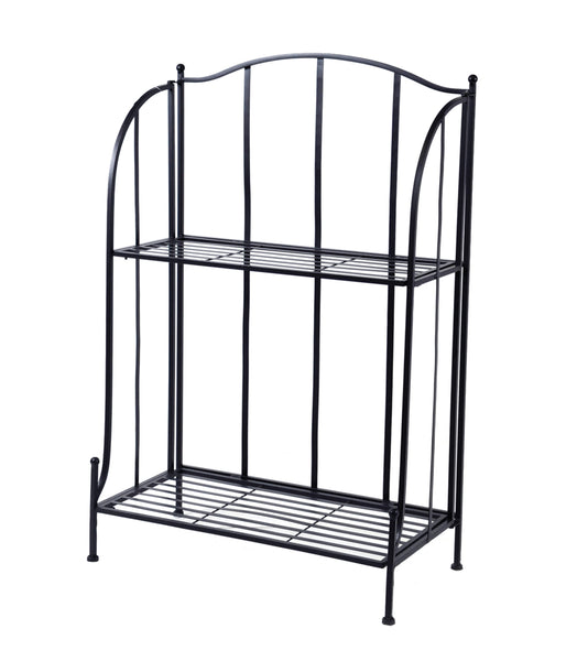 Iron Etagere 2 layer M.Black L60W30H97