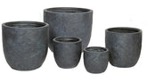 Arizona Egg Pot Graphite S5 D27/62H26/62