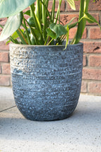 Utah Egg Pot Graphite  S3 D27/42H26/41