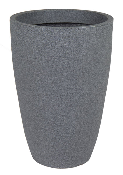 Odeon Kriti Vase Dark Grey D53H77