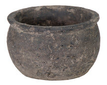 Togo Bowl Dark Grey D21.5H13.5