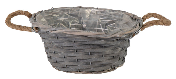 Bobs Chip Basket Bowl Grey D31H13