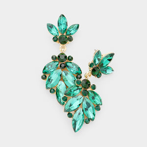 Emerald Goddess Earrings