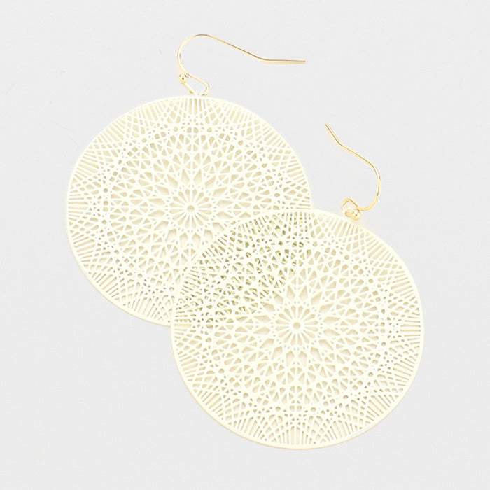 Ivory Ultra Lightweight Earrings