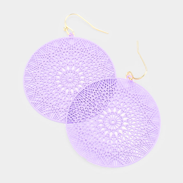Lilac Ultra Lightweight Earrings
