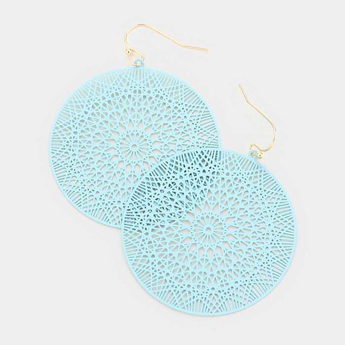 Light Blue Ultra Lightweight Earrings