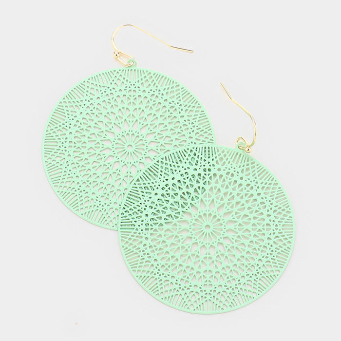 Mint Ultra Lightweight Earrings