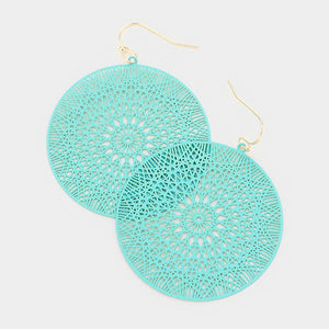 Turquoise Ultra Lightweight Earrings