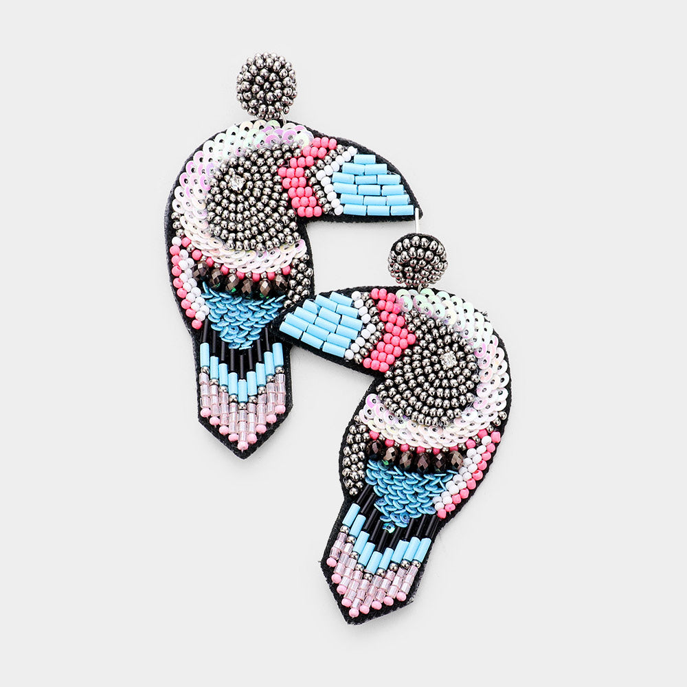 Toucan Sam Earrings