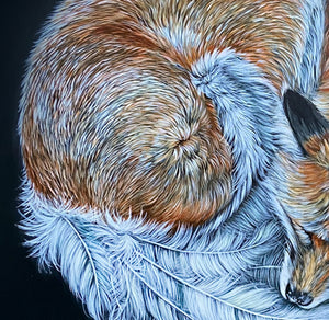 Feather fox