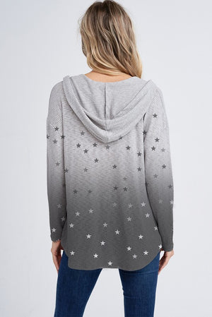 OMBRE STARS HOODIE