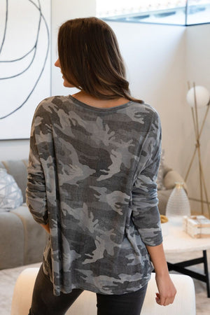 ROCK & LOVE CAMOUFLAGE TOP