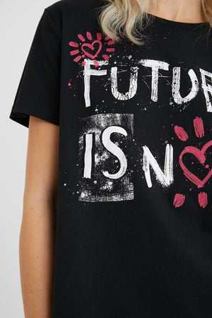 FUTURE IS NOW T-SHIRT