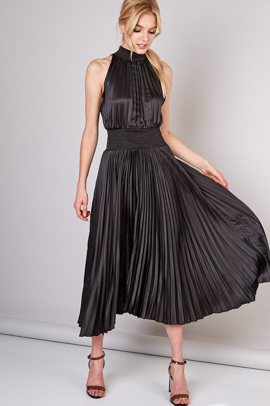Pleats Dress