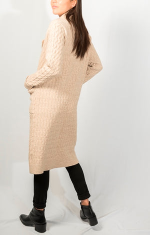 THURLOW KNIT COAT