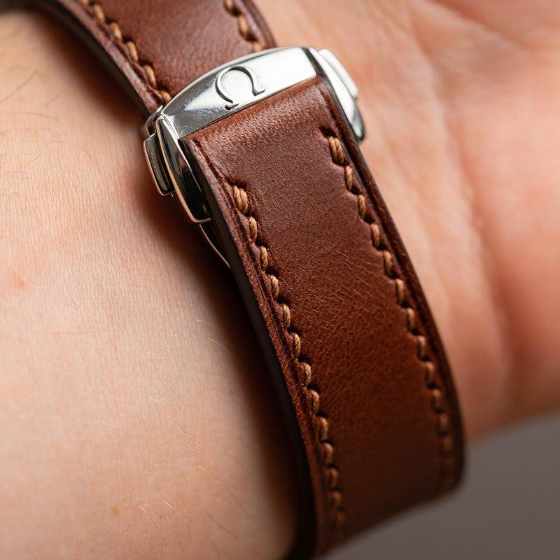 Chestnut Buttero Leather