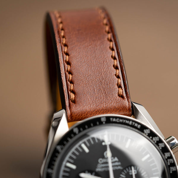 Chestnut Buttero Calf Leather Strap