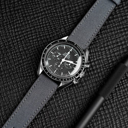 Anthracite Grey Cordura watch strap